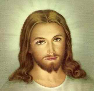 Jesus having long hair