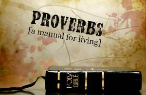 We have a manual to live by and this is the Bible.