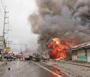 6 died during the blast in a busy street in Cotabato.