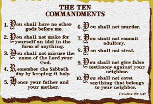 Keep the commandments of God for a more fulfilled life.