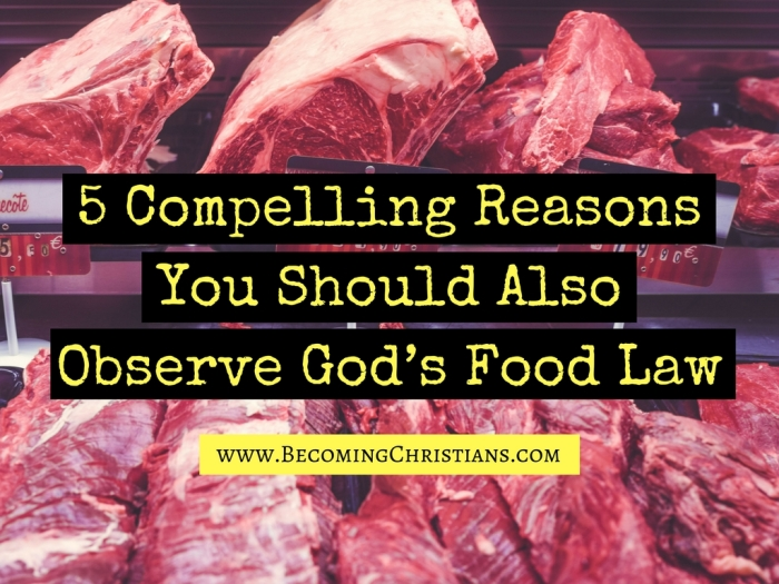 5 Compelling Reasons You Should Also Observe God_s Food Law