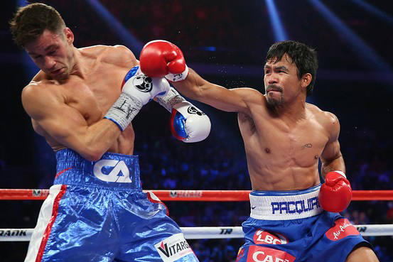 Pacquiao fighting Algieri