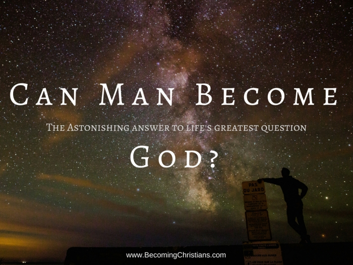 The incredible answer to how man can become a god