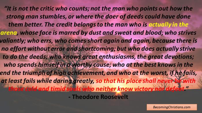 Theodore Rosevelt Quote