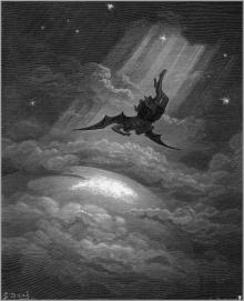 """Paradise Lost 12"" by Gustave Doré"