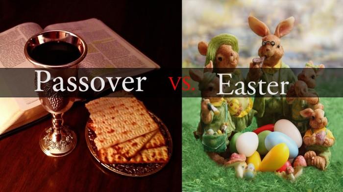 Passover vs Easter