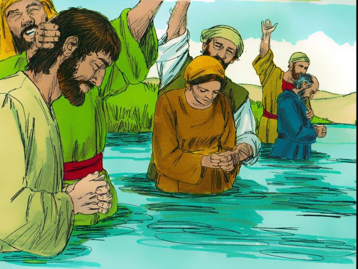 Pentecost and baptism