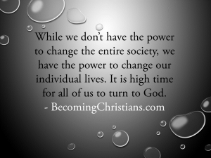 Quote about turning to God