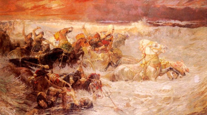 Bridgman_Pharaoh's_Army_Engulfed_by_the_Red_Sea