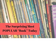 "The Surprising Most POPULAR ""Book"" Today"