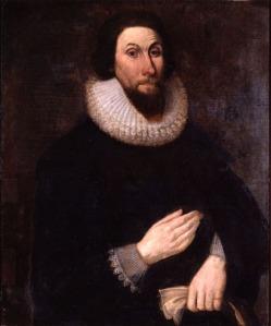 John Winthrop Color Portrait