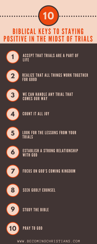10 Biblical Keys to Staying Positive in the Midst Of Trials