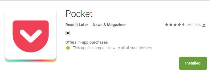 Pocket Mobile App