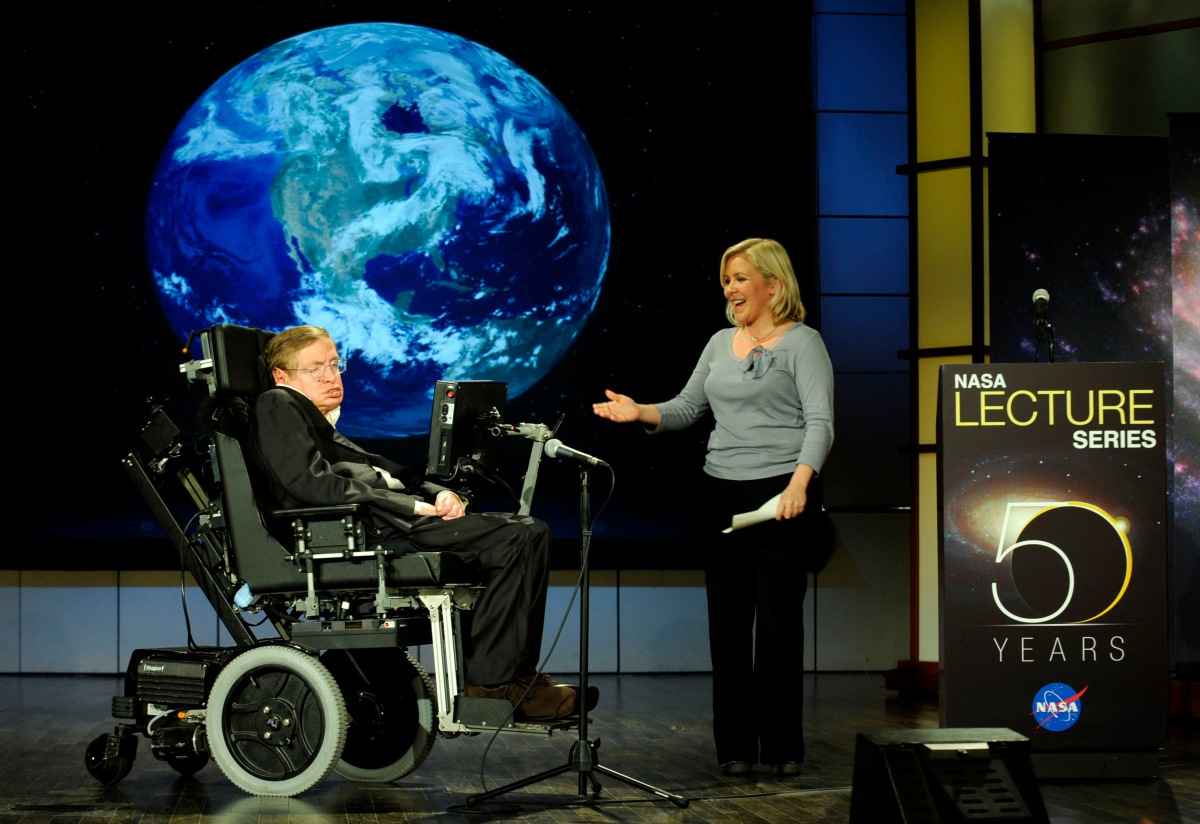Is Stephen Hawking going to hell?