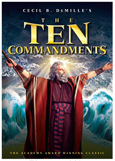 The Ten Commandments 1956