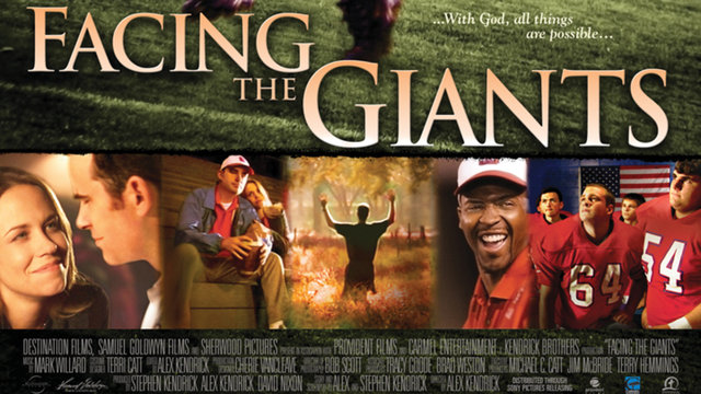 why you should watch facing the giants movie becoming christians rh becomingchristians com Steve Williams Facing the Giants Wall Facing the Giants Poster