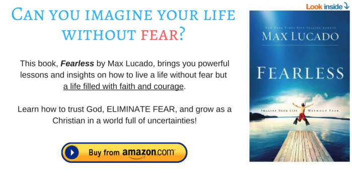 Fearless by max lucado footnote
