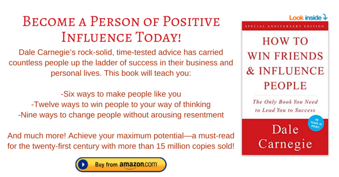 How to Win Friends & Influence People footnote