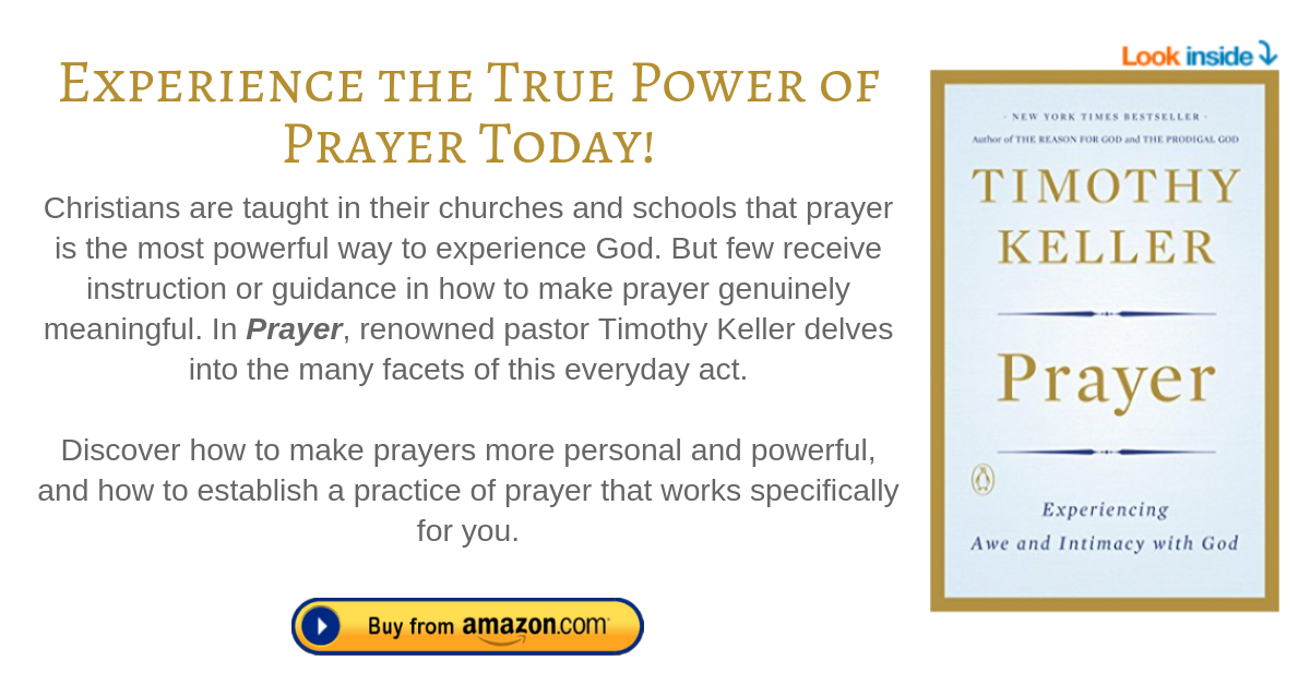 Prayer_ Experiencing Awe and Intimacy with God