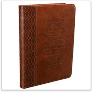 Jeremiah 29 11 Two-tone Flexcover Journal
