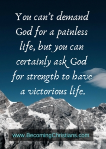 quote about having a victorious life with God