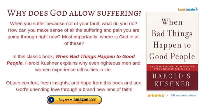 when bad things happen to good people (footnote)