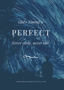 quote about God's perfect timing