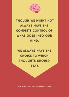 quote about choosing what we think