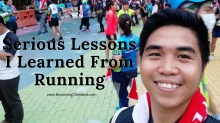 Serious lessons I learned from Running