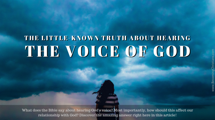 The Little-Known Truth About Hearing The Voice Of God