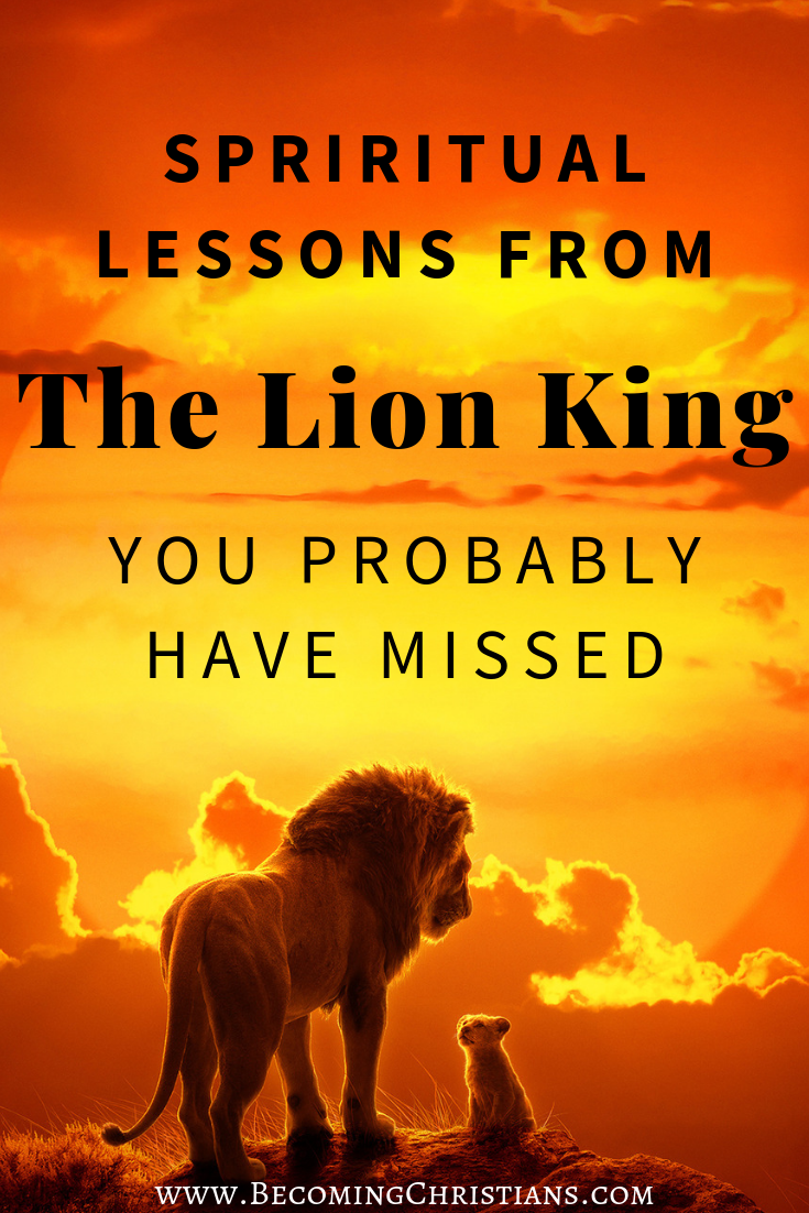 Spiritual Lessons from The Lion King You Probably have Missed