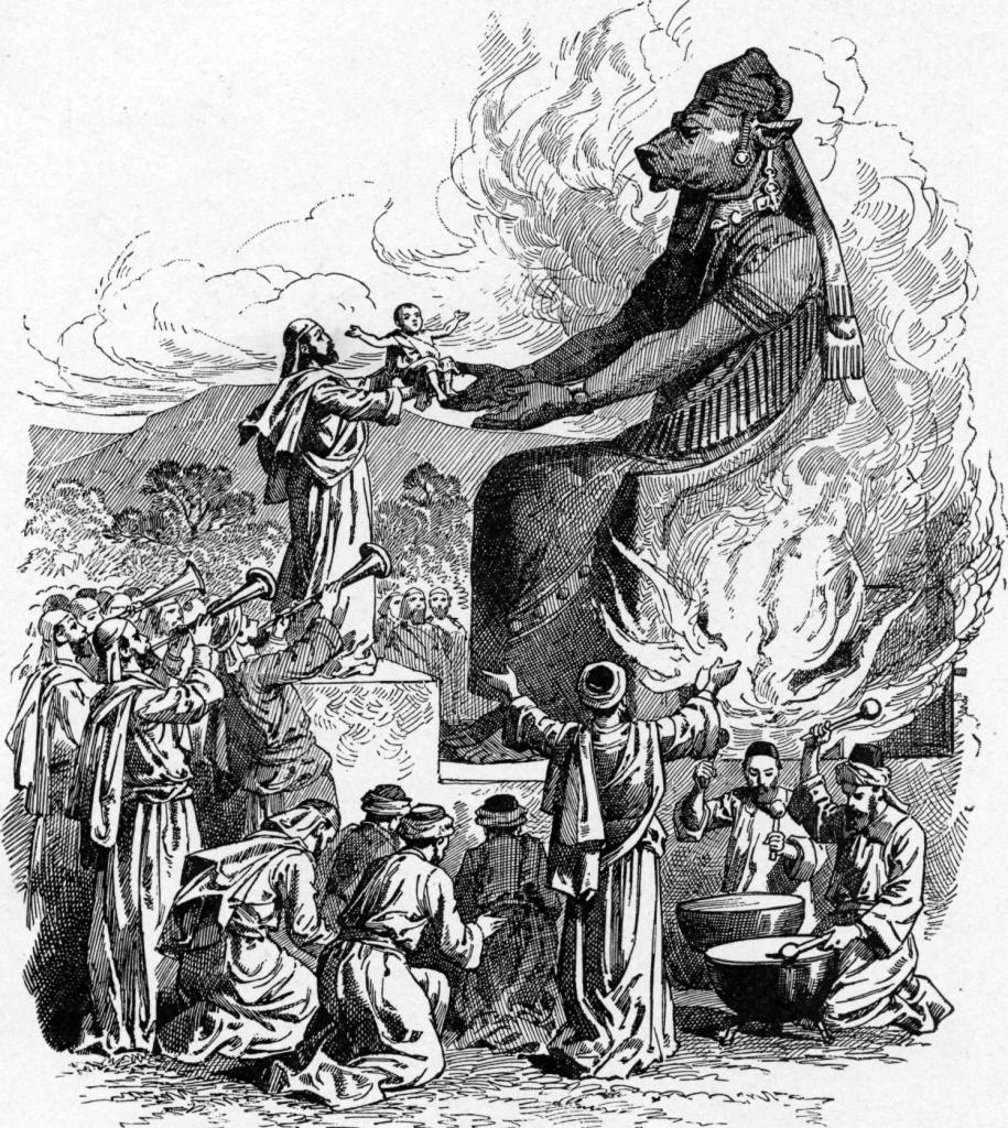 Child sacrifice to Molech