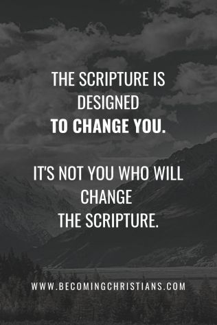 scripture change faith bible study quote