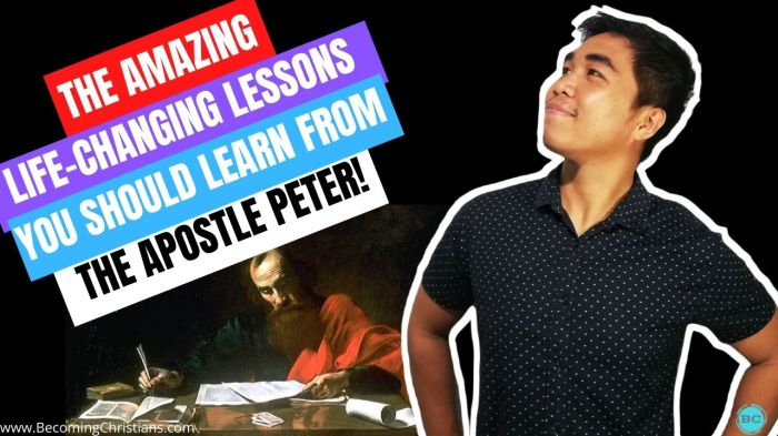 What can we learn from the life of the Apostle Peter?
