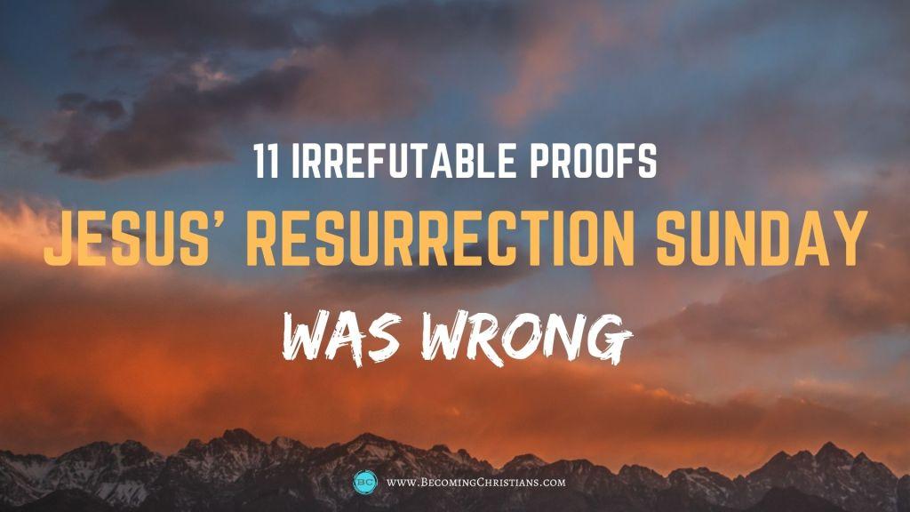 11 irrefutable proofs Jesus wasn't born on Sunday