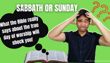 Sabbath vs Sunday Which day should we keep
